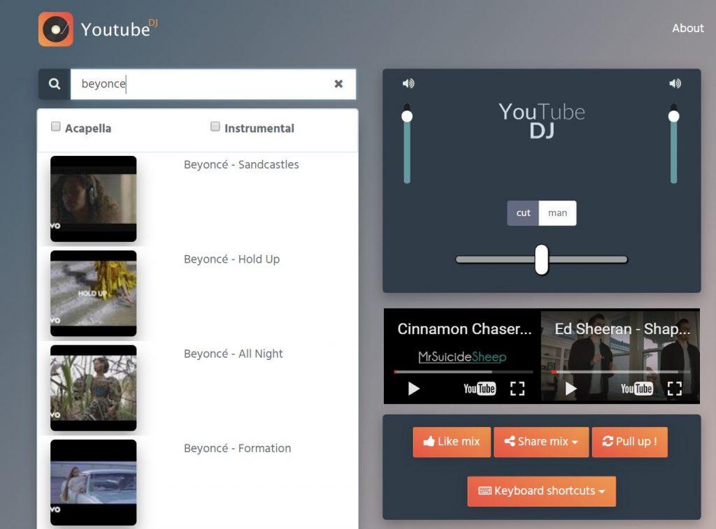 Youtube DJ instru